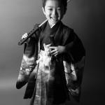 大阪の七五三写真撮影スタジオ・ハニーアンドクランチの男の子の和装のフォトギャラリーC054
