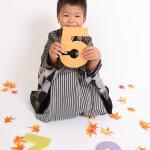 大阪の七五三写真撮影スタジオ・ハニーアンドクランチの男の子の和装のフォトギャラリーC056
