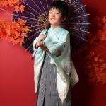 大阪の七五三写真撮影スタジオ・ハニーアンドクランチの男の子の和装のフォトギャラリーC058