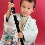 大阪の七五三写真撮影スタジオ・ハニーアンドクランチの男の子の和装のフォトギャラリーC059