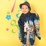 大阪の七五三写真撮影スタジオ・ハニーアンドクランチの男の子の和装のフォトギャラリーC061