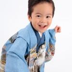 大阪の七五三写真撮影スタジオ・ハニーアンドクランチの男の子の和装のフォトギャラリーC063