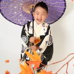 大阪の七五三写真撮影スタジオ・ハニーアンドクランチの男の子の和装のフォトギャラリーC068