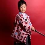 大阪の七五三写真撮影スタジオ・ハニーアンドクランチの男の子の和装のフォトギャラリーC070