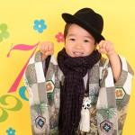 大阪の七五三写真撮影スタジオ・ハニーアンドクランチの男の子の和装のフォトギャラリーC072