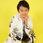 大阪の七五三写真撮影スタジオ・ハニーアンドクランチの男の子の和装のフォトギャラリーC073