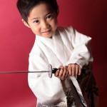大阪の七五三写真撮影スタジオ・ハニーアンドクランチの男の子の和装のフォトギャラリーC074