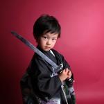 大阪の七五三写真撮影スタジオ・ハニーアンドクランチの男の子の和装のフォトギャラリーC075