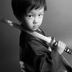 大阪の七五三写真撮影スタジオ・ハニーアンドクランチの男の子の和装のフォトギャラリーC076