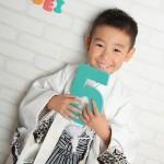 大阪の七五三写真撮影スタジオ・ハニーアンドクランチの男の子の和装のフォトギャラリーC077