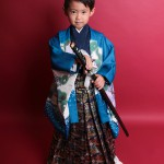 大阪の七五三写真撮影スタジオ・ハニーアンドクランチの男の子の和装のフォトギャラリーC078