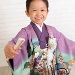 大阪の七五三写真撮影スタジオ・ハニーアンドクランチの男の子の和装のフォトギャラリーC079