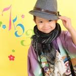 大阪の七五三写真撮影スタジオ・ハニーアンドクランチの男の子の和装のフォトギャラリーC080