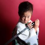 大阪の七五三写真撮影スタジオ・ハニーアンドクランチの男の子の和装のフォトギャラリーC081