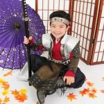 大阪の七五三写真撮影スタジオ・ハニーアンドクランチの男の子の和装のフォトギャラリーC082