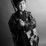 大阪の七五三写真撮影スタジオ・ハニーアンドクランチの男の子の和装のフォトギャラリーC085