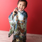 大阪の七五三写真撮影スタジオ・ハニーアンドクランチの男の子の和装のフォトギャラリーC086