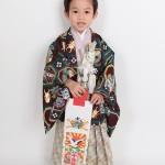 大阪の七五三写真撮影スタジオ・ハニーアンドクランチの男の子の和装のフォトギャラリーC087