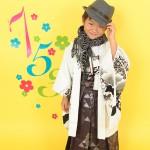大阪の七五三写真撮影スタジオ・ハニーアンドクランチの男の子の和装のフォトギャラリーC089