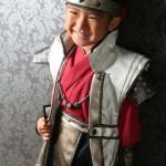 大阪の七五三写真撮影スタジオ・ハニーアンドクランチの男の子の和装のフォトギャラリーC091