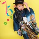 大阪の七五三写真撮影スタジオ・ハニーアンドクランチの男の子の和装のフォトギャラリーC092