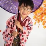大阪の七五三写真撮影スタジオ・ハニーアンドクランチの男の子の和装のフォトギャラリーC093