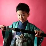 大阪の七五三写真撮影スタジオ・ハニーアンドクランチの男の子の和装のフォトギャラリーC094