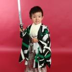 大阪の七五三写真撮影スタジオ・ハニーアンドクランチの男の子の和装のフォトギャラリーC097