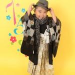 大阪の七五三写真撮影スタジオ・ハニーアンドクランチの男の子の和装のフォトギャラリーC101
