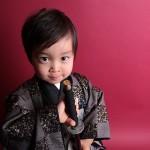 大阪の七五三写真撮影スタジオ・ハニーアンドクランチの男の子の和装のフォトギャラリーC102