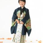 大阪の七五三写真撮影スタジオ・ハニーアンドクランチの男の子の和装のフォトギャラリーC104
