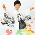 大阪の七五三写真撮影スタジオ・ハニーアンドクランチの男の子の和装のフォトギャラリーC105