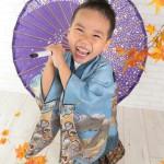 大阪の七五三写真撮影スタジオ・ハニーアンドクランチの男の子の和装のフォトギャラリーC106