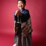 大阪の七五三写真撮影スタジオ・ハニーアンドクランチの男の子の和装のフォトギャラリーC109