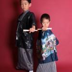 大阪の七五三写真撮影スタジオ・ハニーアンドクランチの男の子の和装のフォトギャラリーC111