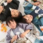 大阪の七五三写真撮影スタジオ・ハニーアンドクランチの男の子の和装のフォトギャラリーC112