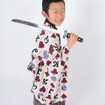 大阪の七五三写真撮影スタジオ・ハニーアンドクランチの男の子の和装のフォトギャラリーC116