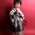 大阪の七五三写真撮影スタジオ・ハニーアンドクランチの男の子の和装のフォトギャラリーC118