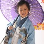 大阪の七五三写真撮影スタジオ・ハニーアンドクランチの男の子の和装のフォトギャラリーC119