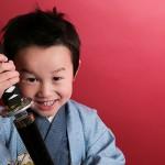 大阪の七五三写真撮影スタジオ・ハニーアンドクランチの男の子の和装のフォトギャラリーC121