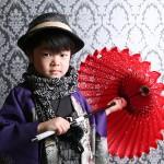 大阪の七五三写真撮影スタジオ・ハニーアンドクランチの男の子の和装のフォトギャラリーC122