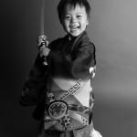 大阪の七五三写真撮影スタジオ・ハニーアンドクランチの男の子の和装のフォトギャラリーC123