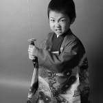 大阪の七五三写真撮影スタジオ・ハニーアンドクランチの男の子の和装のフォトギャラリーC125