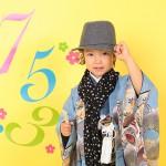 大阪の七五三写真撮影スタジオ・ハニーアンドクランチの男の子の和装のフォトギャラリーC128