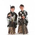 大阪の七五三写真撮影スタジオ・ハニーアンドクランチの男の子の和装のフォトギャラリーC134