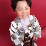 大阪の七五三写真撮影スタジオ・ハニーアンドクランチの男の子の和装のフォトギャラリーC137