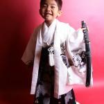大阪の七五三写真撮影スタジオ・ハニーアンドクランチの男の子の和装のフォトギャラリーC139
