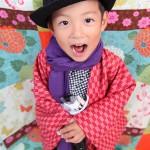 大阪の七五三写真撮影スタジオ・ハニーアンドクランチの男の子の和装のフォトギャラリーC140