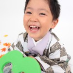 大阪の七五三写真撮影スタジオ・ハニーアンドクランチの男の子の和装のフォトギャラリーC142