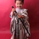 大阪の七五三写真撮影スタジオ・ハニーアンドクランチの男の子の和装のフォトギャラリーC145
